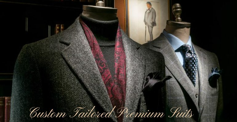 custom tailored mens suits by darzi on call