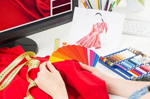 fine fabrics for ladies designer wears